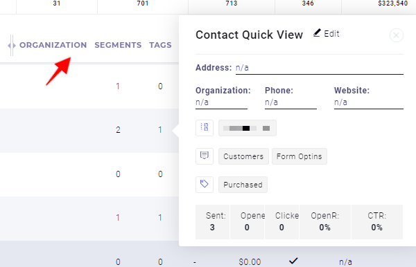 New Columns in CRM